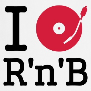 :: I dj / play / listen to rhythm & blues :-: - Delantal de cocina