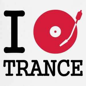 :: I dj / play / listen to trance :-: - Tablier de cuisine