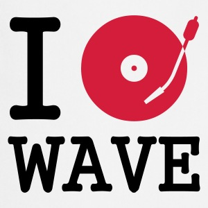 :: I dj / play / listen to wave :-: - Cooking Apron