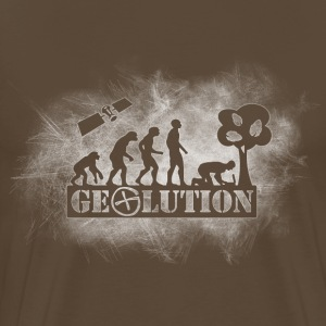 Geolution-light-grunge T-shirts - Mannen Premium T-shirt