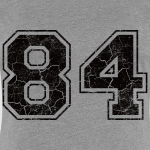 Number 84 in the grunge look T-Shirts - Women's Premium T-Shirt