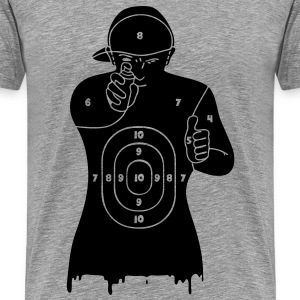 writers are target - T-shirt Premium Homme