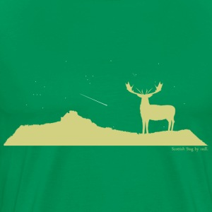 Scottish stag - Men's Premium T-Shirt