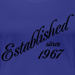 Established since 1967 T-shirts - Dame premium T-shirt