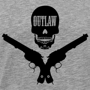 outlaw - bandit - cow-boy Tee shirts - T-shirt Premium Homme