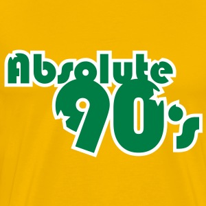 Absolute_90's T-shirts - Mannen Premium T-shirt