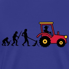 tractor_evolution T-Shirts