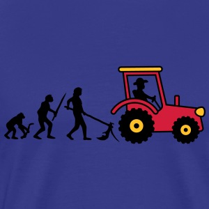 tractor_evolution T-Shirts - Men's Premium T-Shirt