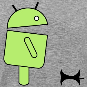 android eat an apple T-Shirts - Männer Premium T-Shirt