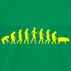 Evolution of humanity 4 T-Shirts - Men's Premium T-Shirt