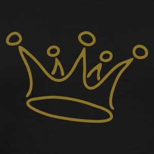 crown_gold - Mannen Premium T-shirt