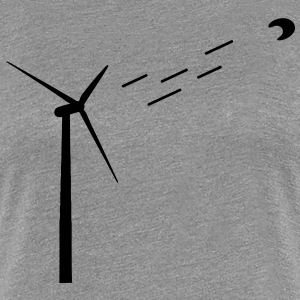 Wind energy / wind turbine T-Shirts - Women's Premium T-Shirt
