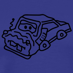 auto_accident T-shirts - Herre premium T-shirt