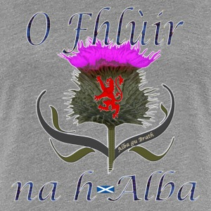 Flower of Scotland Women's Thistle Classic T-Shirt - Women's Premium T-Shirt