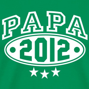 PAPA 12 3-STAR DESIGN T-Shirt WG - Men's Premium T-Shirt