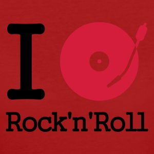 :: I dj / play / listen to rock & roll :-: - Women's Organic T-shirt