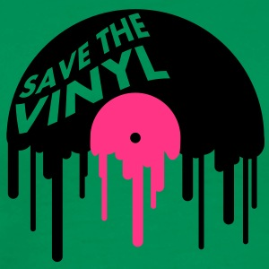 save_the_vinyl T-shirts - Herre premium T-shirt