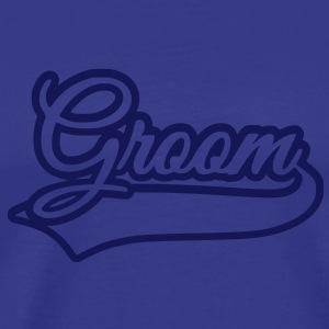 groom T-shirts - Herre premium T-shirt