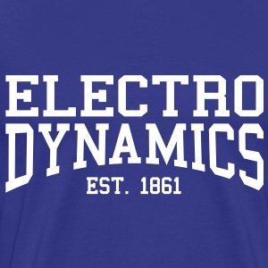 Electrodynamics - Est. 1861 (Over-Under) T-Shirts - Men's Premium T-Shirt