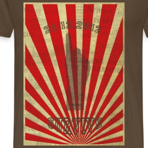 I Survive 21.12.2012 T-Shirts - Men's Premium T-Shirt