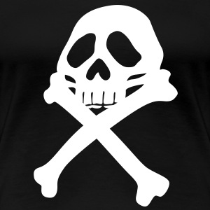 Piraten Totenkopf T-Shirts - Frauen Premium T-Shirt