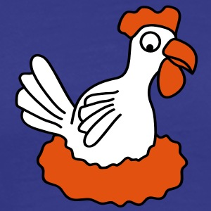 chicken T-shirts - Herre premium T-shirt