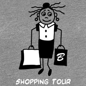 Shopping Tour - V2 T-Shirts - Frauen Premium T-Shirt