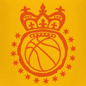 basketball couronne etoile logo crown ki Tee shirts - T-shirt Premium Enfant