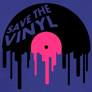 save_the_vinyl T-skjorter - Premium T-skjorte for menn