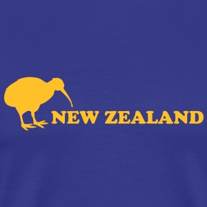 new zealand kiwi T-shirts - Herre premium T-shirt