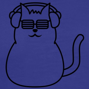 music_cat T-shirts - Herre premium T-shirt