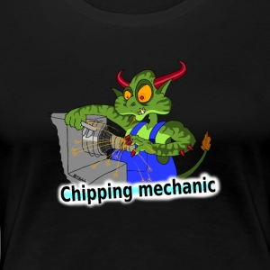 Chipping mechanic T-Shirts - Women's Premium T-Shirt