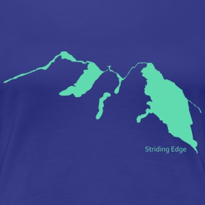 Striding Edge - Women's Premium T-Shirt