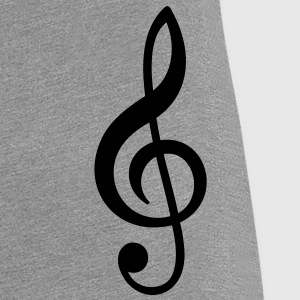 clef, treble, french, octave vocal T-Shirts - Women's Premium T-Shirt