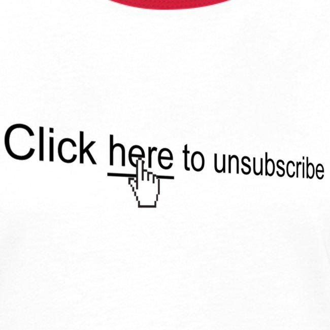 Uitschrijven, unsubscribe, spam