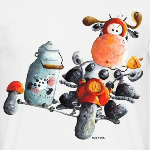 Express Milk - motorcycle - t-shirt design T-Shirts - Men's T-Shirt
