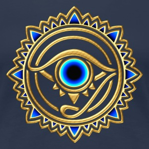 Horus eye, Egypt, protection, magic & strength, T-shirts - Women's Premium T-Shirt