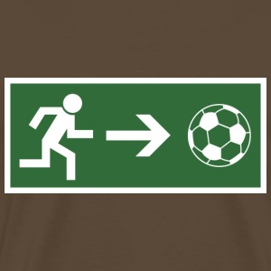 Fire Escape football  T-Shirts - Men's Premium T-Shirt