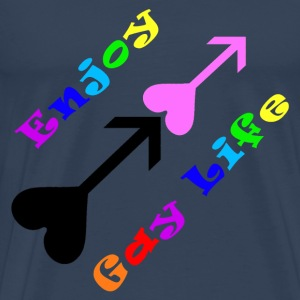 Enjoy Gay Life - XXL - T-shirt Premium Homme