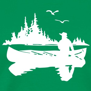 Canoe Kayak Canada Outdoor Fishing t- shirt T-Shirts - Men's Premium T-Shirt