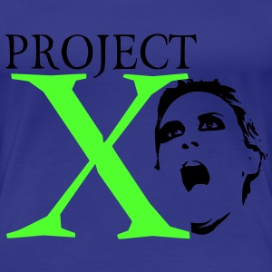 X Project T-shirts - Vrouwen Premium T-shirt