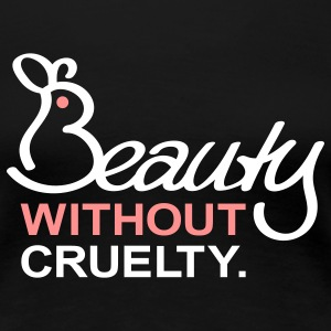Beauty Without Cruelty T-Shirts - Frauen Premium T-Shirt