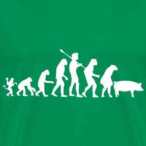 evolution of humanity T-Shirts - Men's Premium T-Shirt
