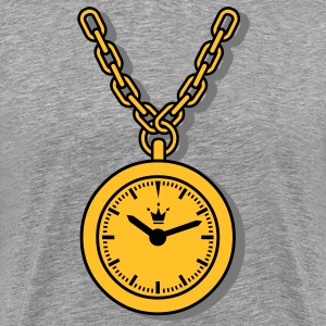 clock, chain T-Shirts - Men's Premium T-Shirt