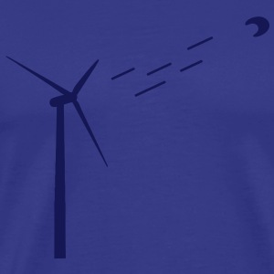 Wind energy / wind turbine T-Shirts - Men's Premium T-Shirt