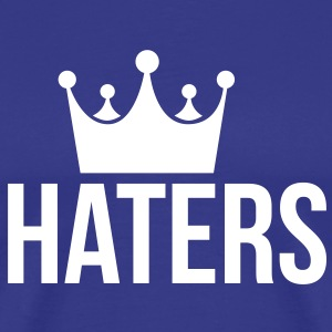 Haters Hater og rap T-Shirts - Men's Premium T-Shirt