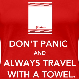 Don't panic T-Shirts - Frauen Premium T-Shirt