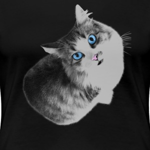 Maya the cat T-shirts - Vrouwen Premium T-shirt