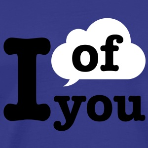 think of you | cloud T-Shirts - Männer Premium T-Shirt