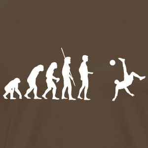 Evolution bicycle kick  T-Shirts - Men's Premium T-Shirt